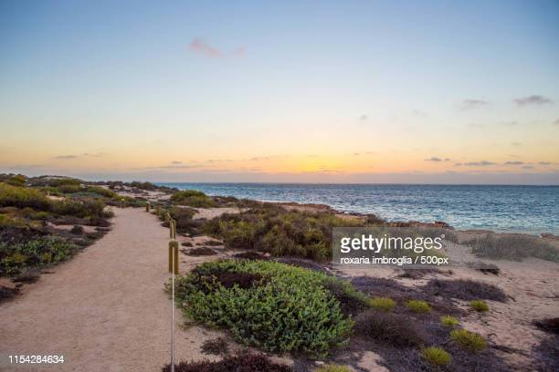 early morning - carnarvon western australia stock photos and pictures