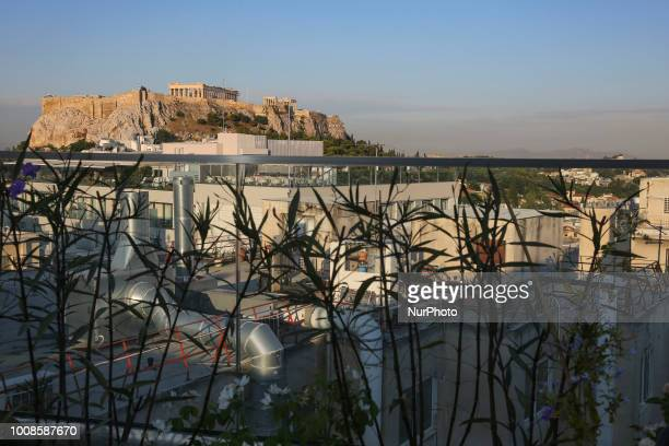 Early morning pictures of Parthenon Acropolis in Athens Greece The ancient hill of Acropolis including the worldwide known Parthenon and remains of...