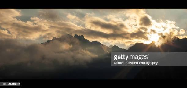 Early Morning Rays, Machu Picchu