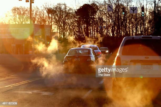 Early morning temperatures in the teens caused some traffic problems around the Midlands mostly with traffic lights being out due to power outages...