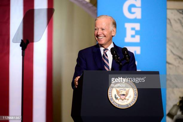 Early polls conducted in March show Joe Biden leading the Democratic field of candidates with Sen Bernie Sanders following closely behind While still...