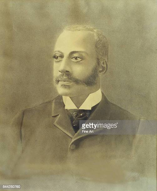 Early portrait of Charles Douglass third youngest son of Frederick in pencil and ink from a photograph located at the historic Frederick Douglass...