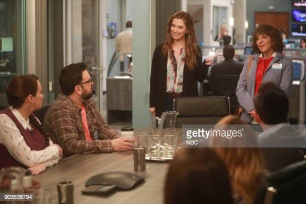 NEWS 'Early Retirement' Episode 213 Pictured Tracey Wigfield as Beth Horatio Sanz as Justin Briga Heelan as Katie Andrea Martin as Carol