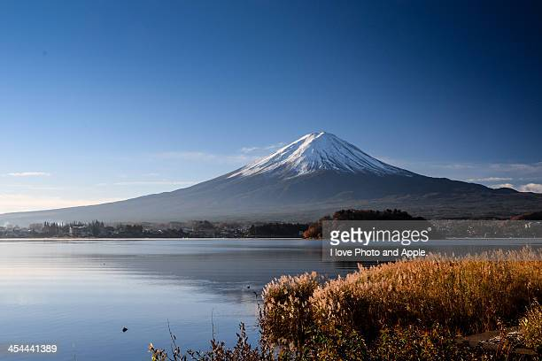Early winter Fuji