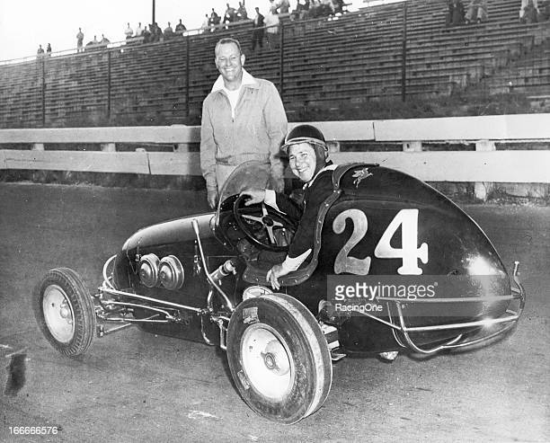 Chuck Arnold of Stamford CT was one of the nation's top Midget drivers through the 1950s and 1960s scoring wins in the NASCAR NEMA ARDC and USAC...