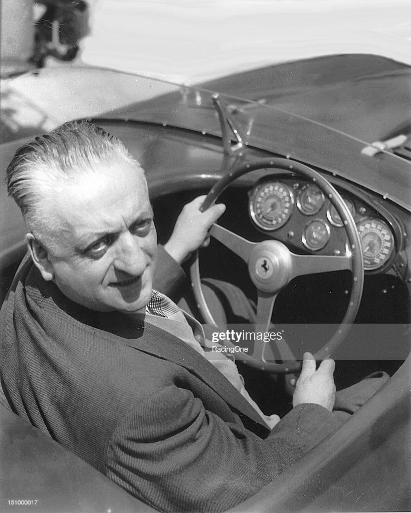 Enzo Ferrari : News Photo