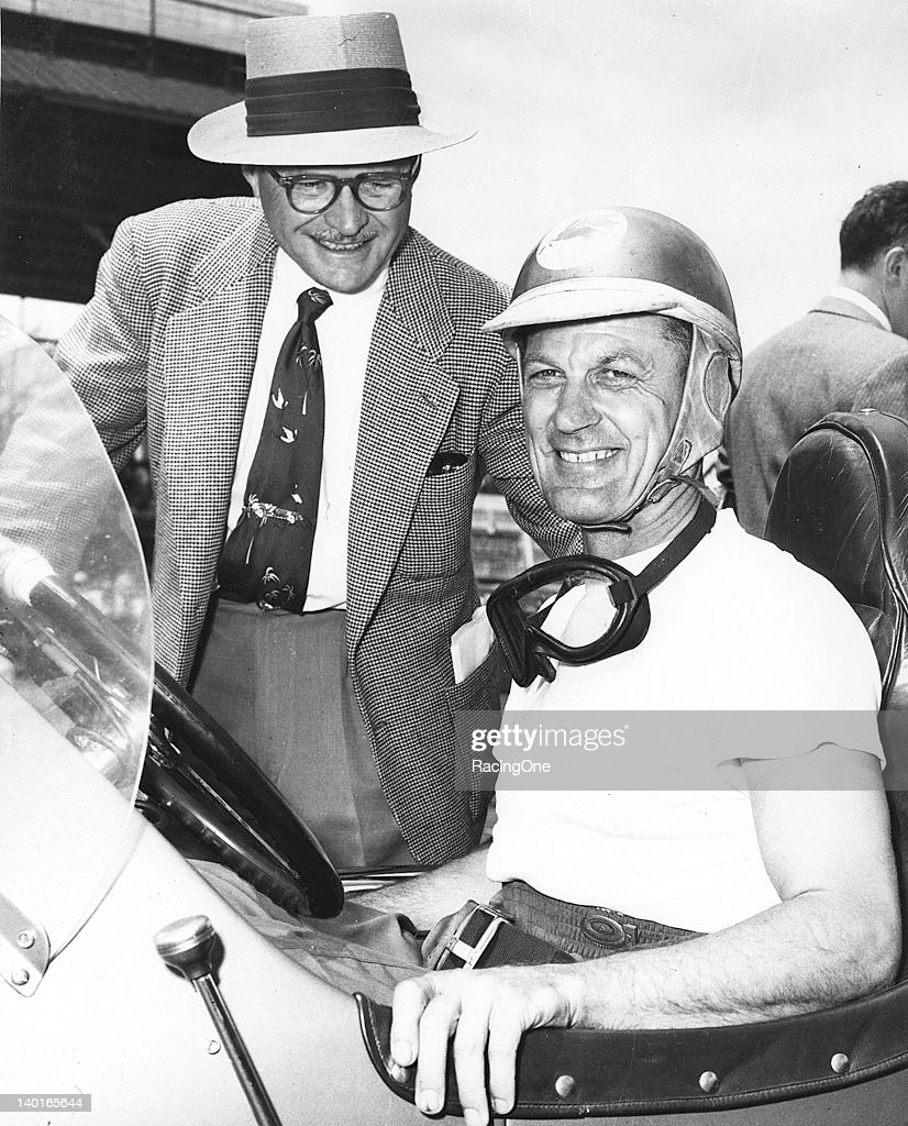 Wilbur Shaw-George Connor - Indy 500 : News Photo