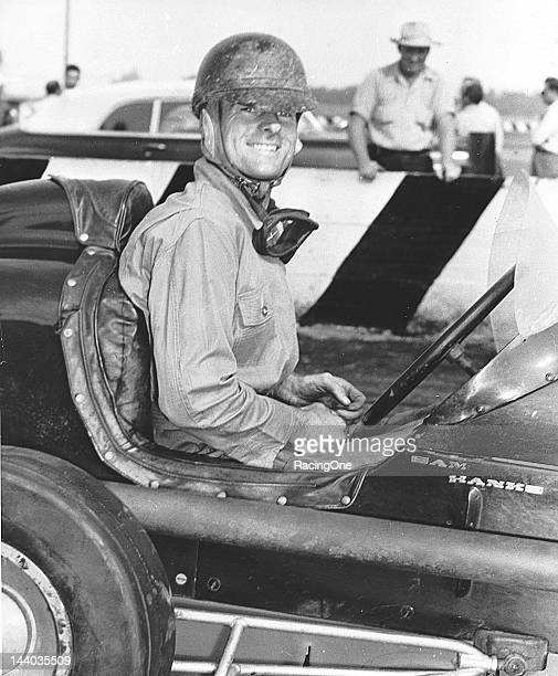 Sam Hanks of Los Angeles CA raced motorcycles in the 1930s before turning to automobile racing He won the 1949 AAA Midget Division championship then...