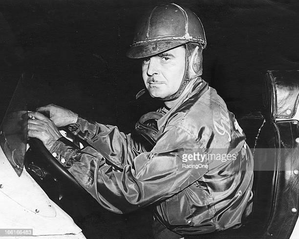 South Dakota native Mel Hansen prepares for a race at Sun Valley Speedway Hansen's first big win was the 1939 Turkey Night Grand Prix at Gilmore...