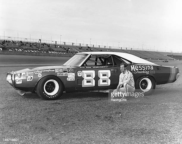 Ron Keselowski of Troy MI ran this 1970 Dodge Charger owned by Roger Lubinski in the Daytona 500 NASCAR Cup race at Daytona International Speedway in...