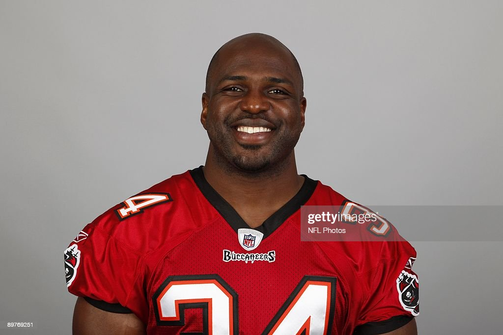 Earnest Graham of the Tampa Bay Buccaneers poses for his 2009 NFL headshot at photo day in Tampa, Florida.