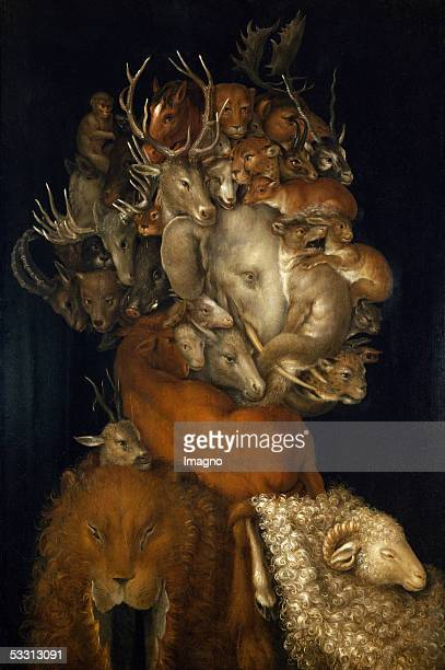 Earth allegory 1570 Wood2 x 487 cm [Erde Allegorie Gemaelde 1570]