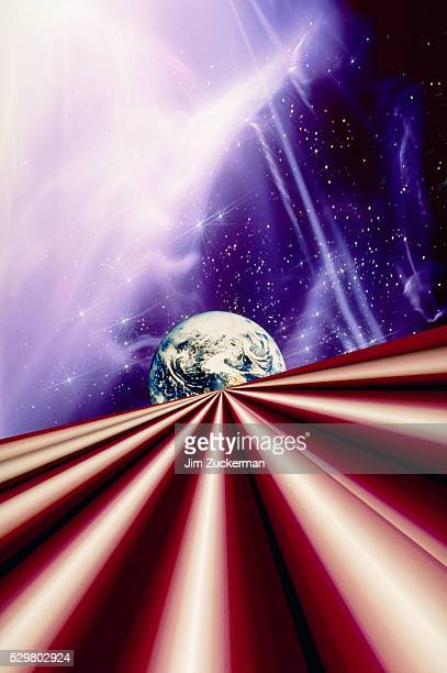 earth and lines - parallel stock pictures, royalty-free photos & images