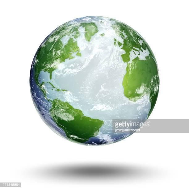 Erde-Atlantischer Ozean