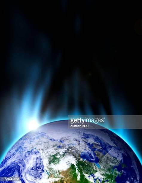 Erde Blue Stratosphere
