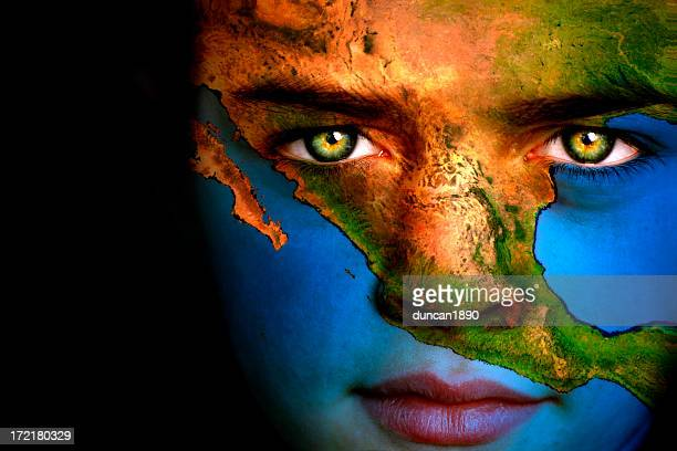 Ragazzo terra-America centrale