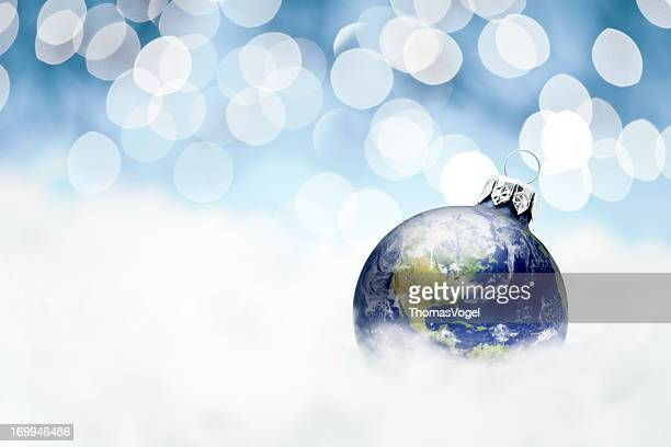 Earth christmas decoration - Snowflake Snow Ornament Winter Holiday