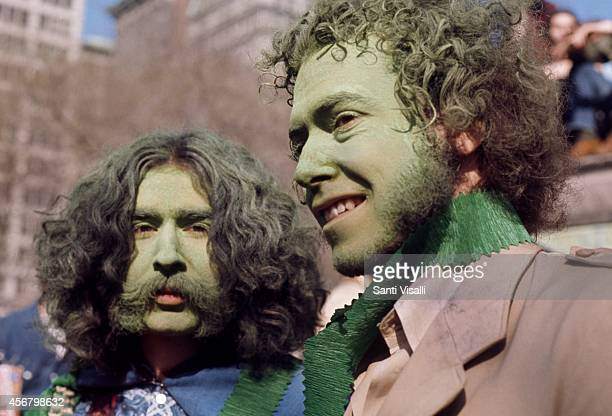 Earth Day on April 20 1970 in New York New York