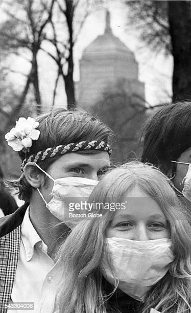 Earth Day on Boston Common April 22 1970