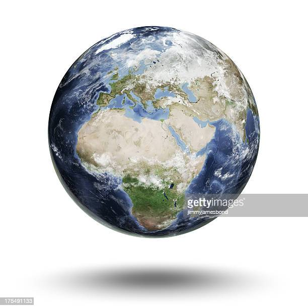 earth - european eastern hemisphere - global stock pictures, royalty-free photos & images