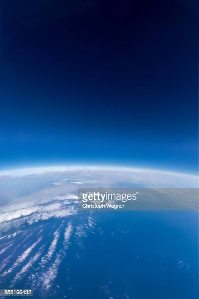 earth from above - atmosphere stock pictures, royalty-free photos & images