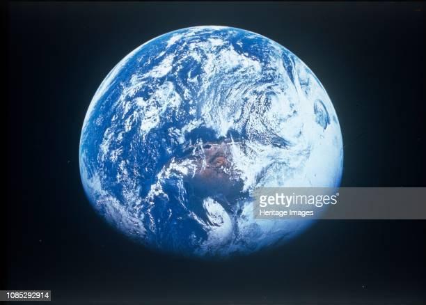 Earth from Apollo 16, April 1972. Artist NASA.