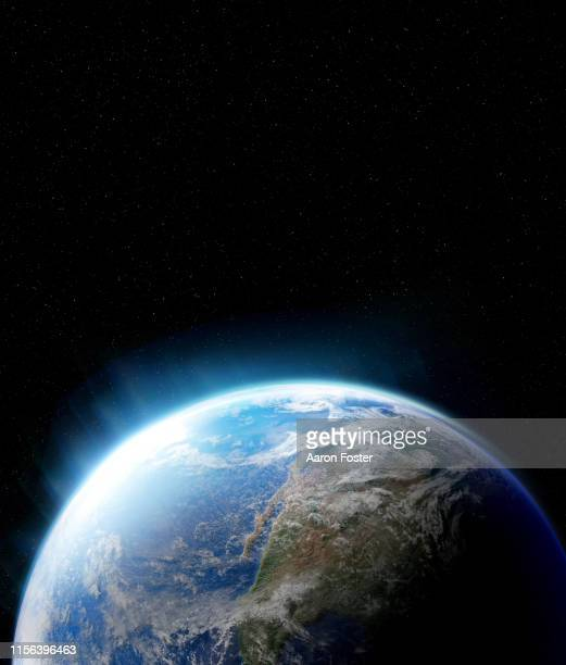 earth from space - globo terrestre foto e immagini stock