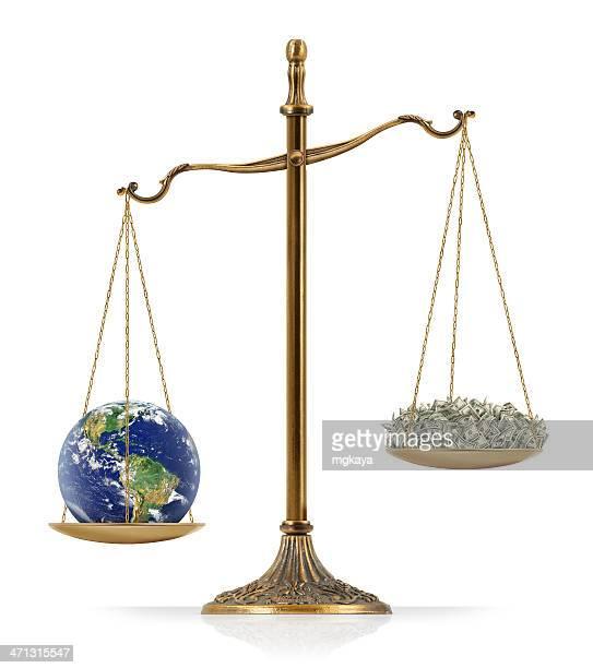 Earth Heavier Than Money