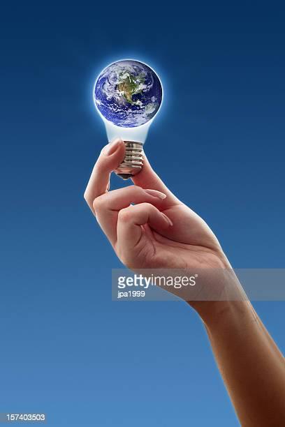 Erde Idee