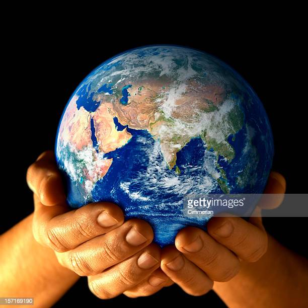 Earth in my hands - East view