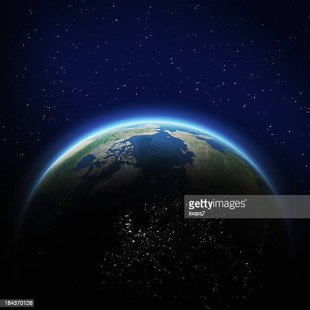 Erde im Weltall