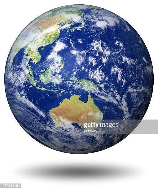 Earth Model: Australia View