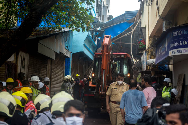 IND: Four Killed, Seven Injured As Building Collapses In Govandi Mumbai