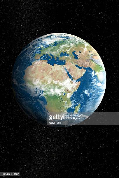 earth - satellite view stock pictures, royalty-free photos & images