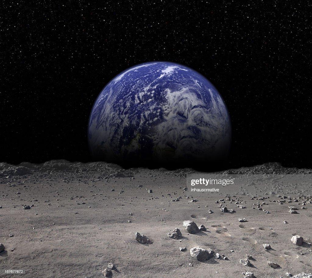 Earth Rising : Stock Photo