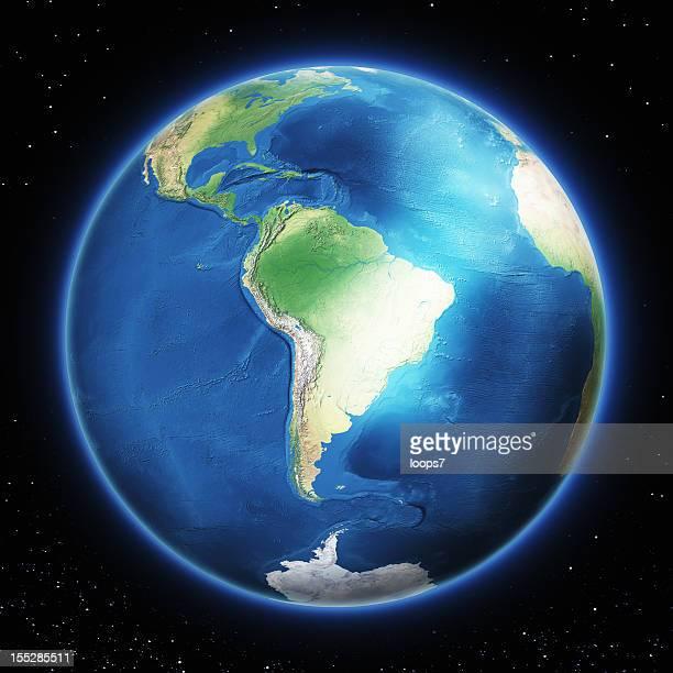 Erde South Südamerika