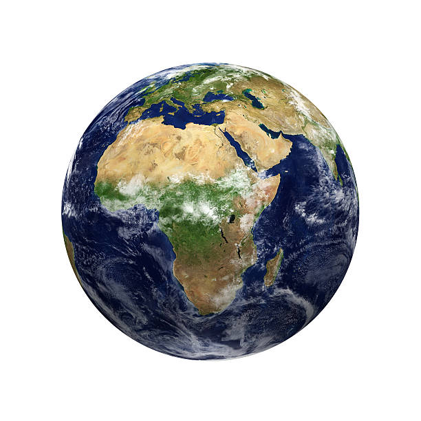Earth View - Africa Wall Art