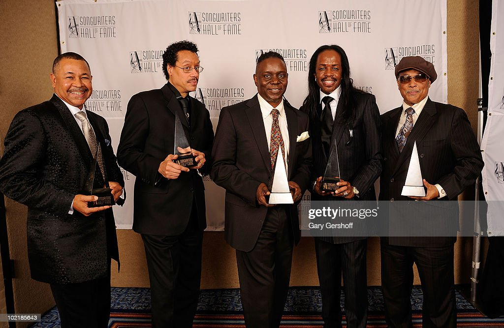Earth Wind and Fire attend the 41st Annual Songwriters Hall of Fame Ceremony at The New York Marriott Marquis on June 17, 2010 in New York City.