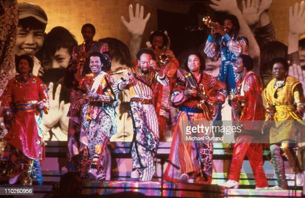 Earth Wind And Fire perform at Music for UNICEF Concert at The United Nations in New York on January 9 1979