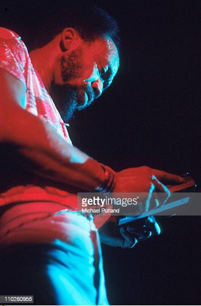 Earth Wind And Fire perform on stage UK Maurice White
