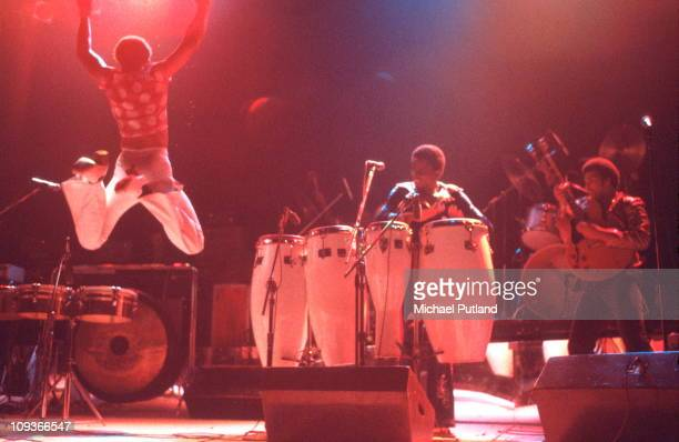 Earth Wind And Fire perform on stage USA 1977