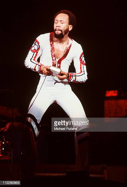 Earth Wind And Fire perform on stage USA Maurice White