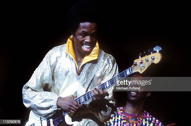 Earth Wind And Fire perform on stage USA Verdine White