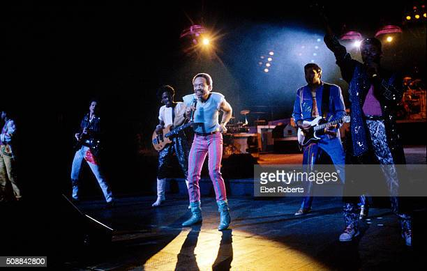 Earth Wind and Fire performing at Radio City Music Hall in New York City on January 2829 1988