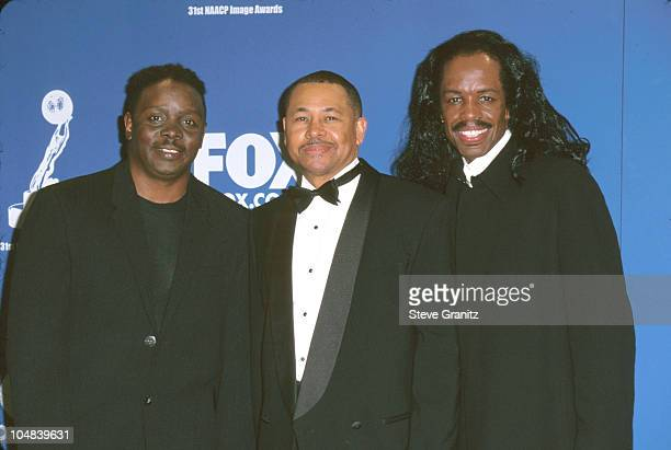 Earth Wind Fire during The 31st Annual NAACP Image Awards at Pasadena Civic Auditorium in Pasadena California United States
