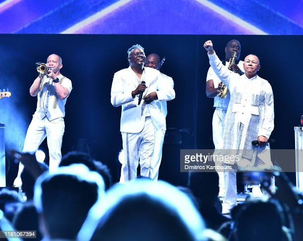 Earth Wind Fire perform at The Beacon Theatre on July 09 2019 in New York City