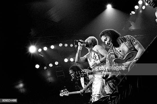Earth Wind Fire performing at Madison Square Garden in New York City on October 2 1979