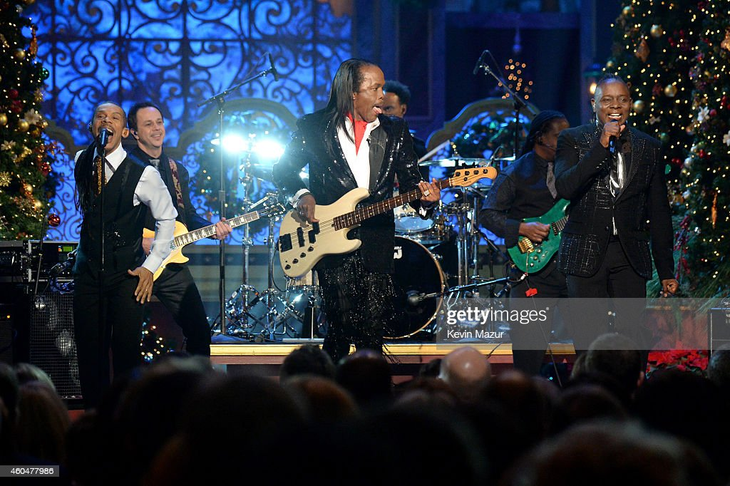 Earth, Wind, & Fire performs onstage at TNT Christmas in Washington 2014 at the National Building Museum on December 14, 2014 in Washington, DC. 25248_002_0245.JPG