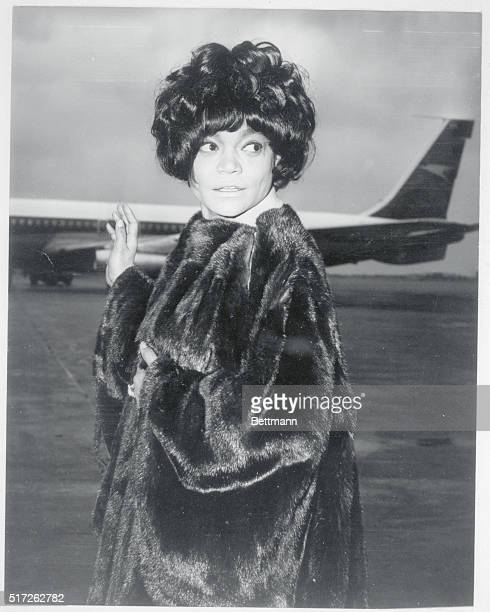 Eartha Kitt arrives at London Airport for a flight to Los Angeles for a visit with her nineyearold daughter Kitt She was worried about her daughter...