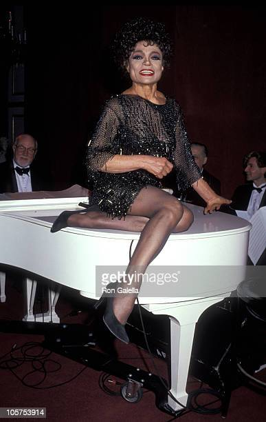 Eartha Kitt during Opening of The Rose Room in the Plaza Hotel at Plaza Hotel Rose Room in New York City New York United States